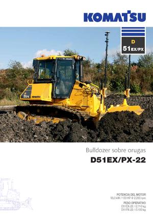 Bulldozers Komatsu D 51 EX 22
