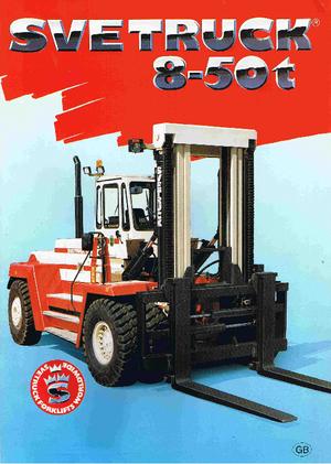 Chariots élevateurs frontaux diesel SVETRUCK 18120-36