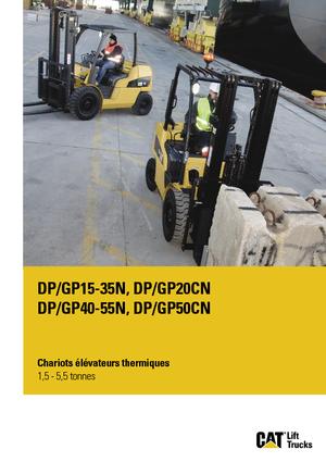 Chariots élevateurs frontaux diesel Caterpillar DP30N