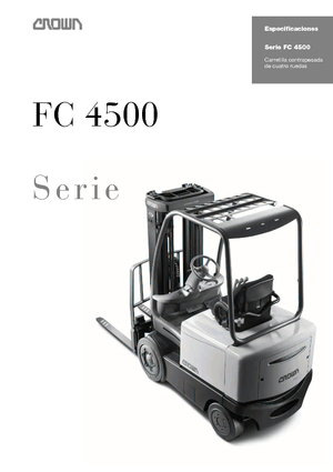 Chariots élevateurs frontaux electriques Crown FC 4525 2.0