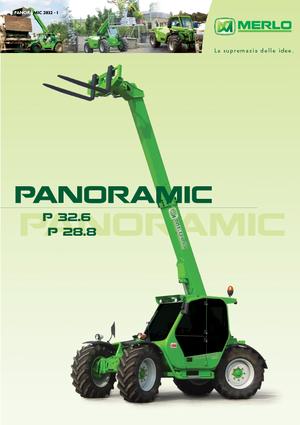 Chargeurs téléscopiques fixe Merlo Panoramic P 32.6 L Plus