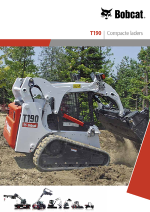 Chargeurs compacts Bobcat T 190 AHC