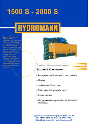 Saleuses montables Hydromann 2000 S