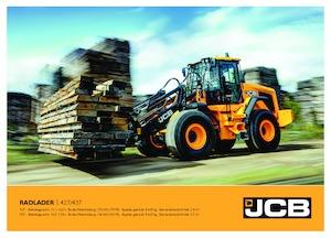 Chargeuses sur pneus JCB 427 HT